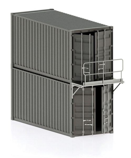 Containertrappor