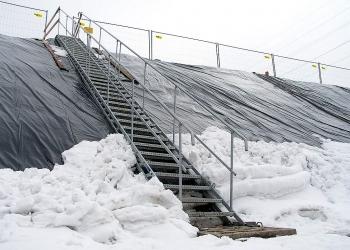 tillfälliga trappor