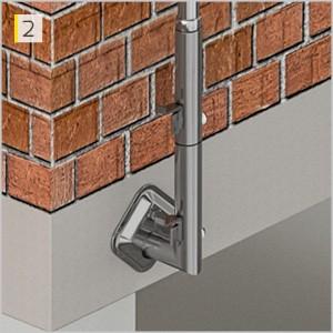 Fallskyddssystem för byggarbetsplatser